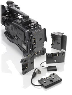 Anton Bauer QR-DP800 Gold Mount for Panasonic QR-DP800