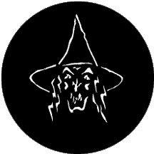 Rosco Laboratories 78104 Wicked Witch Gobo 78104