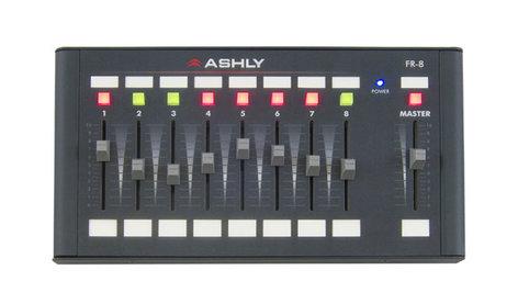Ashly FR-8 8 channel Network Fader Remote Control FR-8