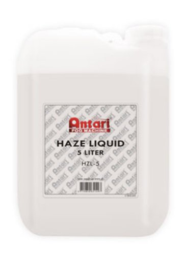 Antari Lighting & Effects HZL-5 5 Liter Container of Oil-Based Haze Fluid HZL-5