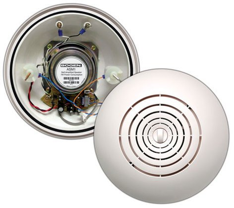 Bogen Communications ASM1 Easy Install Self-Amplified Ceiling Speaker ASM1