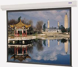 "Da-Lite 92669L 69"" x 92"" Designer Contour Electrol® High Contrast Matte White Screen with LVC 92669L"