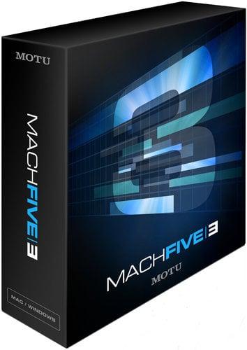 MOTU MACH-FIVE-3 Sampler/Plug-In Software MACH-FIVE-3