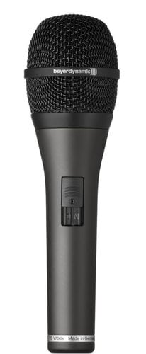 Beyerdynamic TG V70ds Hypercardioid Dynamic Vocal Microphone with On/Off Switch TG-V70DS