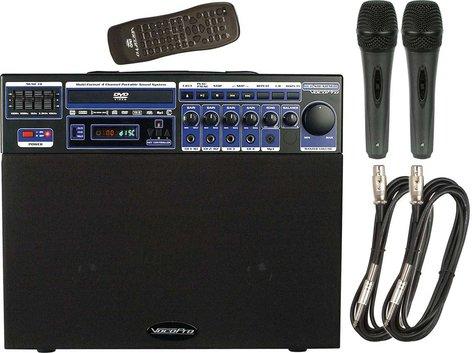 VocoPro DVD-SOUNDMAN-BASIC Portable Sound System, 80W DVD-SOUNDMAN-BASIC