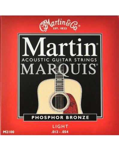Martin Strings M2100PK3 3-Pack of Light Marquis 92/8 Phosphor Bronze Acoustic Guitar Strings M2100PK3
