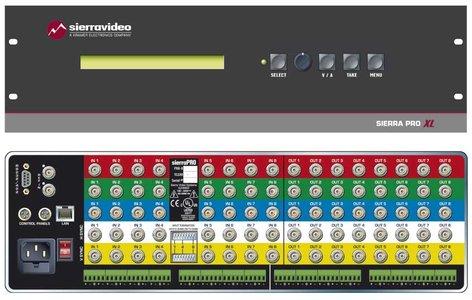 Sierra Video Systems 3232V5SRXL Switcher 32x32 RGBHV w/RPS IP  3232V5SRXL