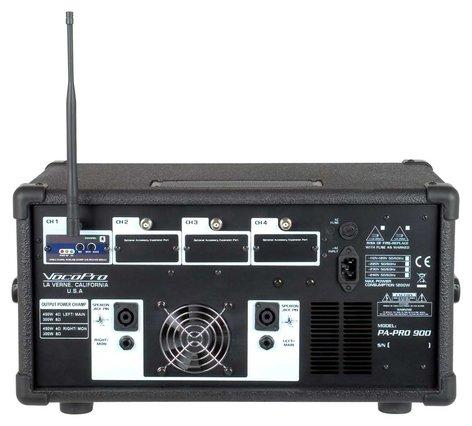 VocoPro PA-PRO-900-1 PA Mixer, 1 Mic, SDR-3, 900W  PA-PRO-900-1