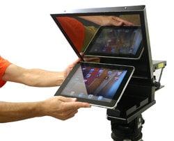 Mirror Image Teleprompter IP10  iPad Teleprompter IP10