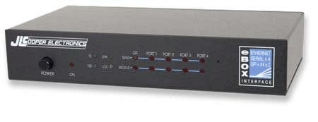JLCooper E-BOX  Ethernet Interface/Portal for JL Cooper Products E-BOX