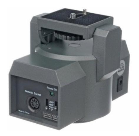 Bescor MP-101 Motorized Pan Head MP101-BESCOR