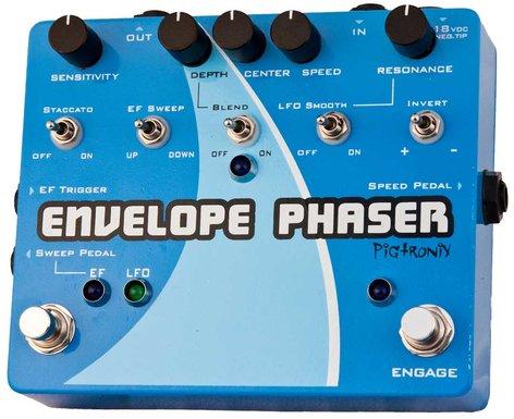 Pigtronix ENVELOPE PHASER EP2 Envelope and Rotary Phaser Pedal ENVELOPE-PHASER