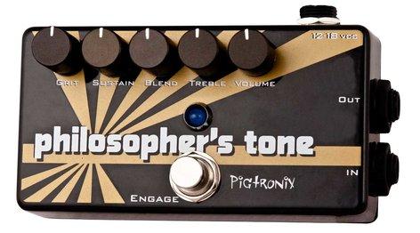 Pigtronix Philosopher's Tone Compression/Sustain/Distortion Pedal PHILOSPHERS-TONE