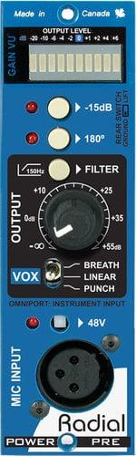 Radial Engineering PowerPre 500 Series Multi-Voice Microphone Amplifier Module POWERPRE
