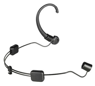 Audio-Technica AT8464  Dual Ear Mount for BP892 and AT892, Black AT8464