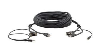 Kramer C-GMAC/GMAC-10 15-pin HD, 3.5mm & RJ-45 Cable, 10ft C-GMAC/GMAC-10