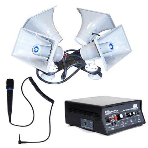 AmpliVox S314 Quad Sound Cruiser Car PA System S314