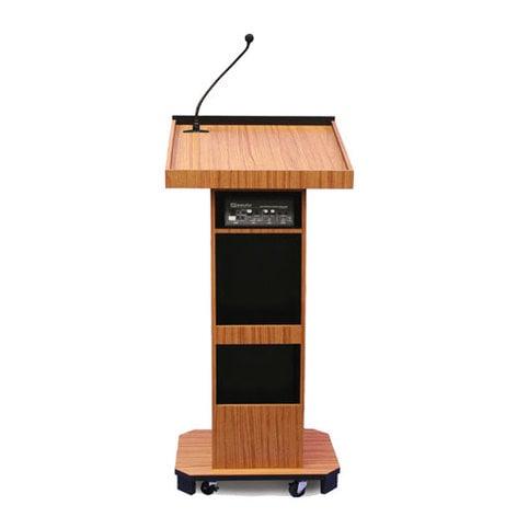 AmpliVox S505 Executive Sound Column Lectern S505