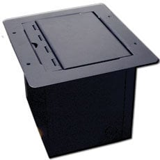 RapcoHorizon Music POCKETMINI-FLAP Mini Floor Box with Flap Lid POCKETMINI-FLAP
