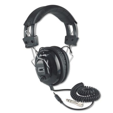 AmpliVox SL1002 Stereo/Mono Headphones with 3.5mm Male Plug SL1002