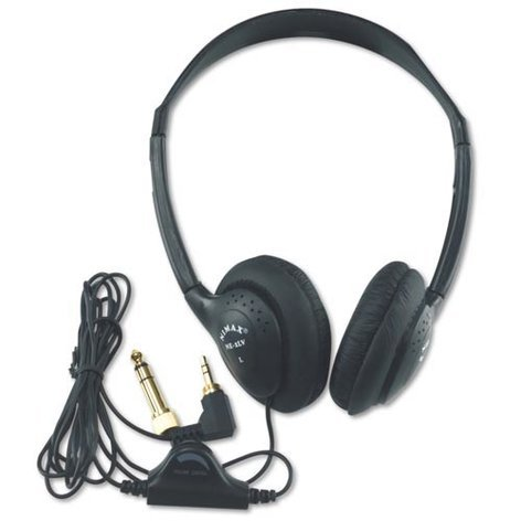 AmpliVox SL1006 Stereo Multimedia Headphones SL1006