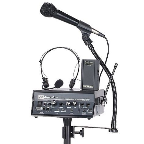 AmpliVox SW232 Wireless Voice Carrier Powered Speaker SW232