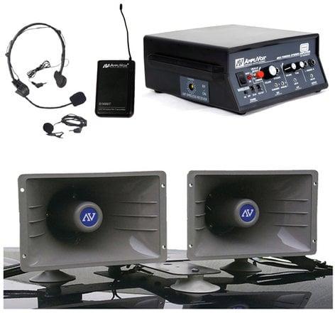 AmpliVox SW312 Wireless Sound Cruiser Car PA System SW312