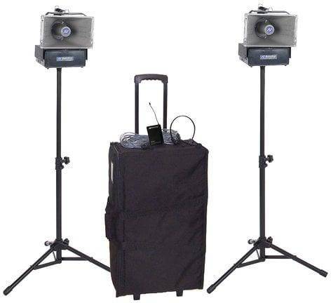 AmpliVox SW640 Wireles Speaker Half Mile Hailer Kit SW640