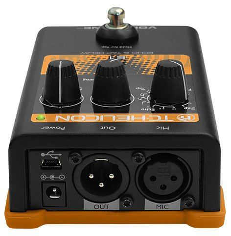 TC Helicon VOICETONE-E1 Vocal Pedal, Echo and Delay VOICETONE-E1