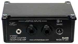 "Whirlwind HAUC 1x 1/8"" & 2x 1/4"" Headphone Amplifier HAUC"