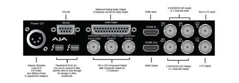 AJA Video Systems Inc Io XT Thunderbolt Interfce,10-bit 3G IOXT