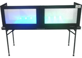 "Grundorf Corp GS-LS1658T Table Top Lycra Facade, Black, 16""x58"" GS-LS1658T"