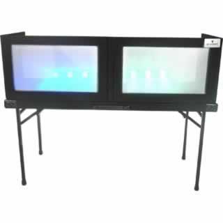 "Grundorf Corp GS-LS1652T Table Top Lycra Facade, Black, 16""x52"" GS-LS1652T"