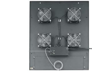 "Middle Atlantic Products MW-4FT-380CFM Integrated 4 1/2"" Fan Top  MW-4FT-380CFM"