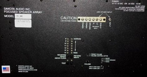 Dakota Audio FA501 Large Format Overhead Array Speaker FA501