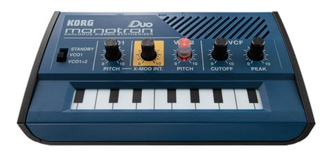 Korg monotron DUO Analog Ribbon Synthesizer MONOTRONDUO