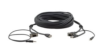 Kramer C-GMAC/GMAC-15 15-pin HD, 3.5mm & RJ-45 Cable, 15ft C-GMAC/GMAC-15