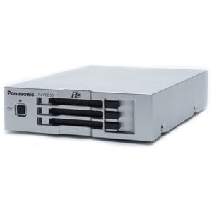 Panasonic AJPCD30PJ 3-Slot P2 Solid State Memory Drive Drive with USB 3.0 Interface AJPCD30PJ