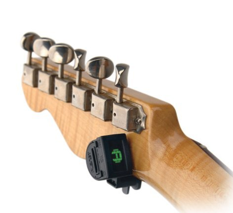 Planet Waves PW-CT-12 Ned Steinberger Miniature Clip-On Headstock Tuner PW-CT-12