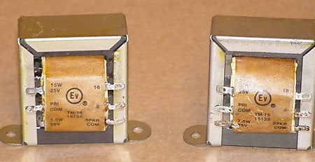 Electro-Voice TM30 30 Watt Transformer TM30