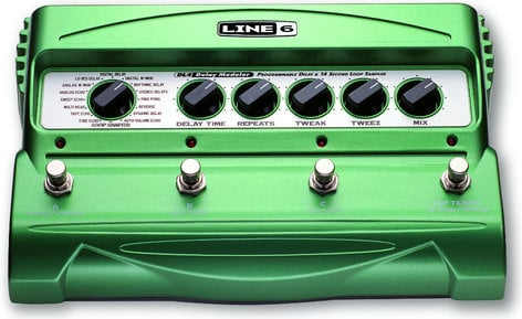 Line 6 DL4 Delay Stompbox Modeler DL4