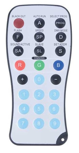 ADJ ADJ-LED-RC Wireless Remote for LED ADJ-LED-RC