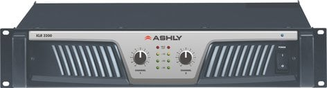 Ashly KLR-3200 2 Channel Power Amplifier with 650W per Channel @ 8 Ohms KLR3200