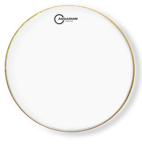 "Aquarian FOR10 10"" Force Ten Clear Drum Head FOR10"