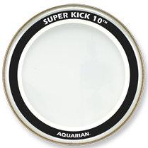 "Aquarian Drumheads SK10-18 18"" Super-Kick 10 Two-Ply Clear Bass Drum Head SK10-18"