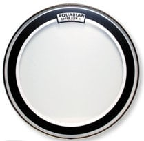 "Aquarian Drumheads SKII-20 20"" Super-Kick II Two-Ply Clear Drum Head SKII-20"