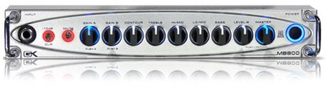 Gallien-Krueger MB800 800W Lightweight Bass Amplifier Head MB800