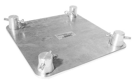 """Global Truss SQ-F24 BASE 8.5""""x8.5"""" Base Plate for F24 Square Truss SQ-F24-BASE"""
