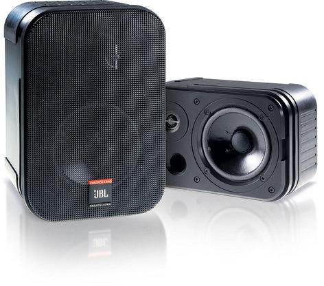 JBL CONTROL-1-PRO Control 1 Pro 2 Way Compact Speaker in Black CONTROL-1-PRO