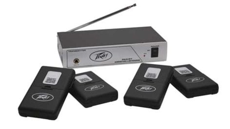 Peavey ASSISTED-LISTEN-72.1 72.1 MHz Assisted Listening System ASSISTED-LISTEN-72.1